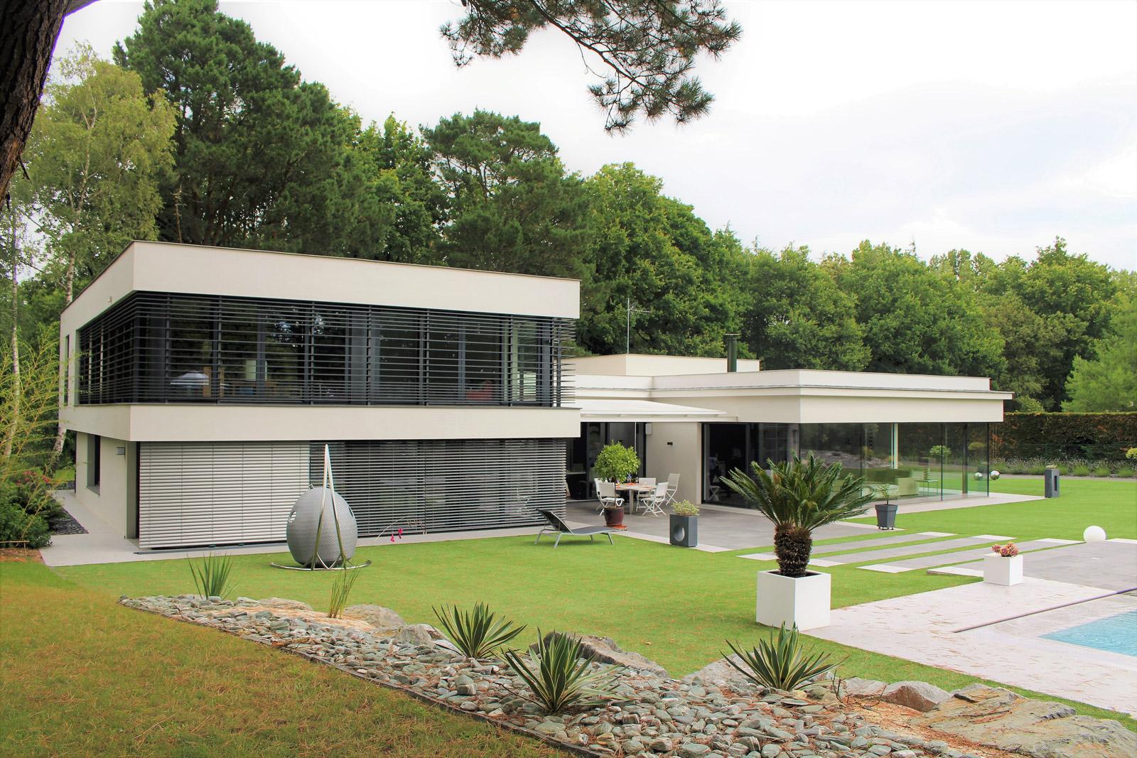 Maison Contemporaine Nantes Agence Bureau Gimbert Comy